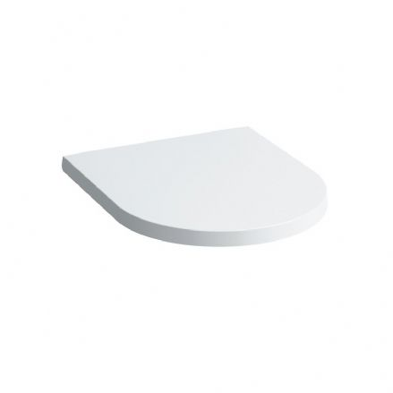 891331 - Laufen Kartell Removable WC / Toilet Seat and Cover With Lowering Mechanism - 8.9133.1